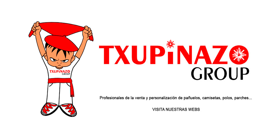 Txupinazo Group - Pañuelos, camisetas, parches